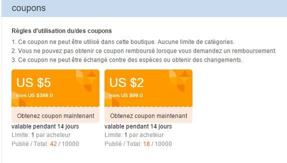 coupon reduction aliexpress